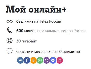 мой онлайн+ теле2 в Челябинской области