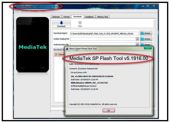 Tele2 Midi прошивка для телефона: SP Flash tools 5.1916