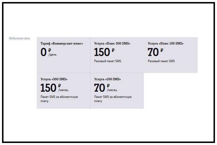 Тарифы Теле2 Воронеж и область. Дополнительные услуги: пакеты SMS